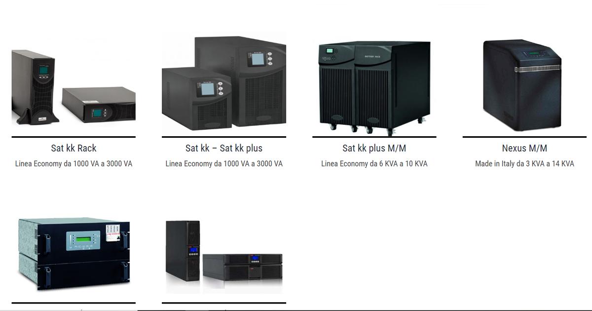 UPS offline, online e line interactive